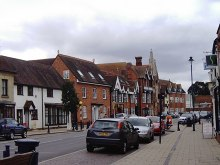 Shefford, High Street, Bedfordshire © David Kemp